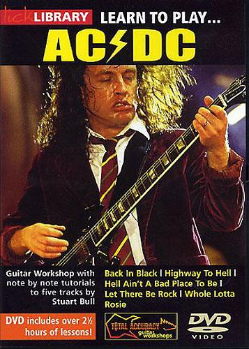 how to play acdc on guitar easy