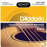 D'Addario EXP19 Coated Phosphor Bronze Bluegrass 12-56