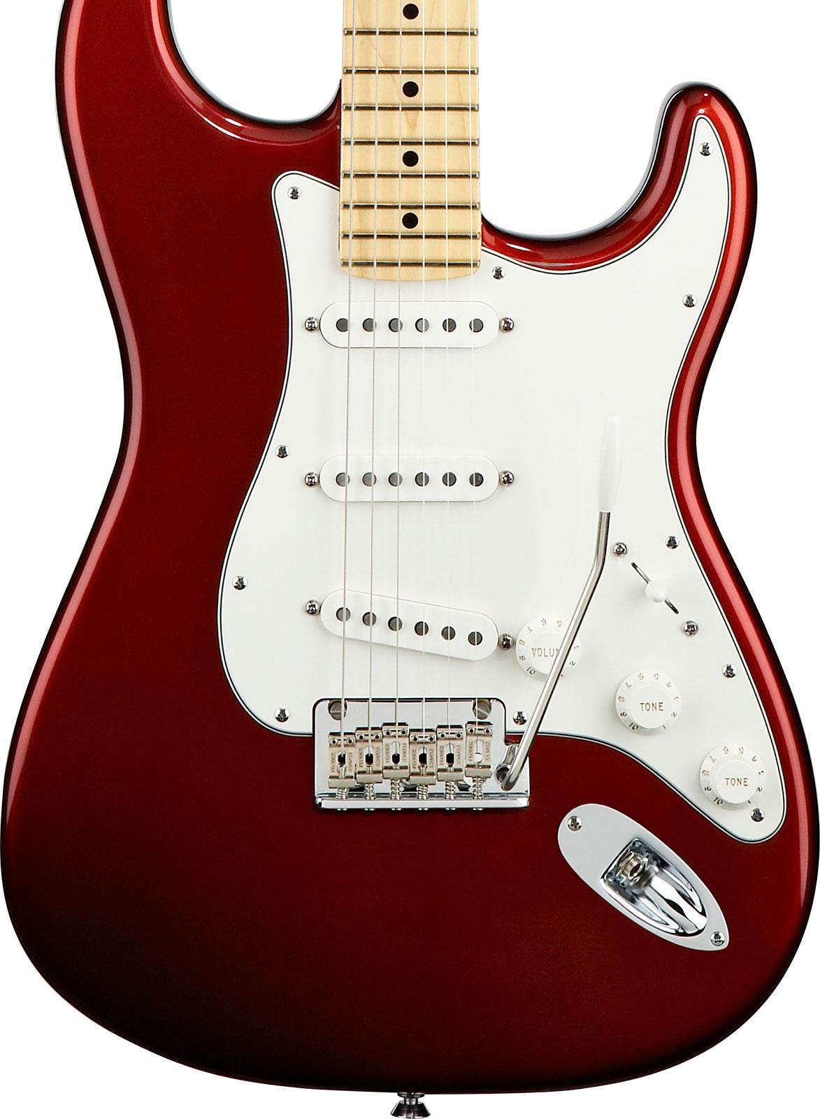 Fender American Standard Stratocaster Candy Cola Maple