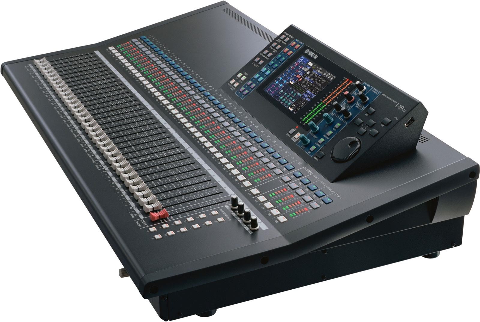 yamaha ls9 32 digital mixing console keymusic. Black Bedroom Furniture Sets. Home Design Ideas