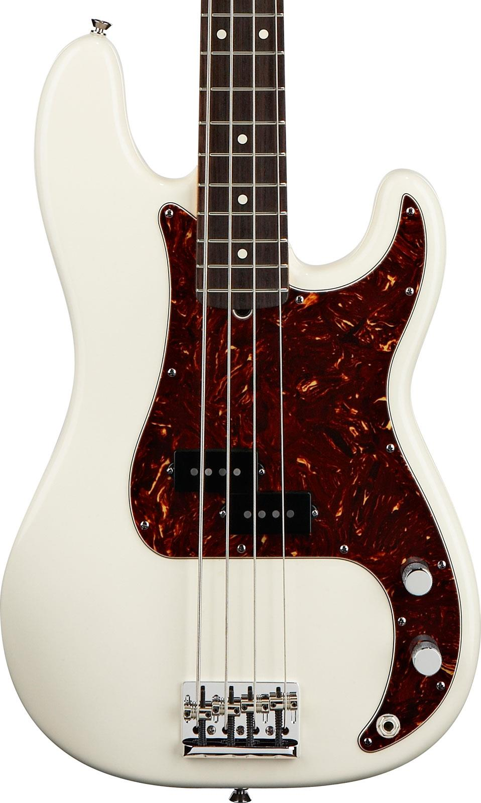 fender american standard precision bass olympic white rw keymusic. Black Bedroom Furniture Sets. Home Design Ideas