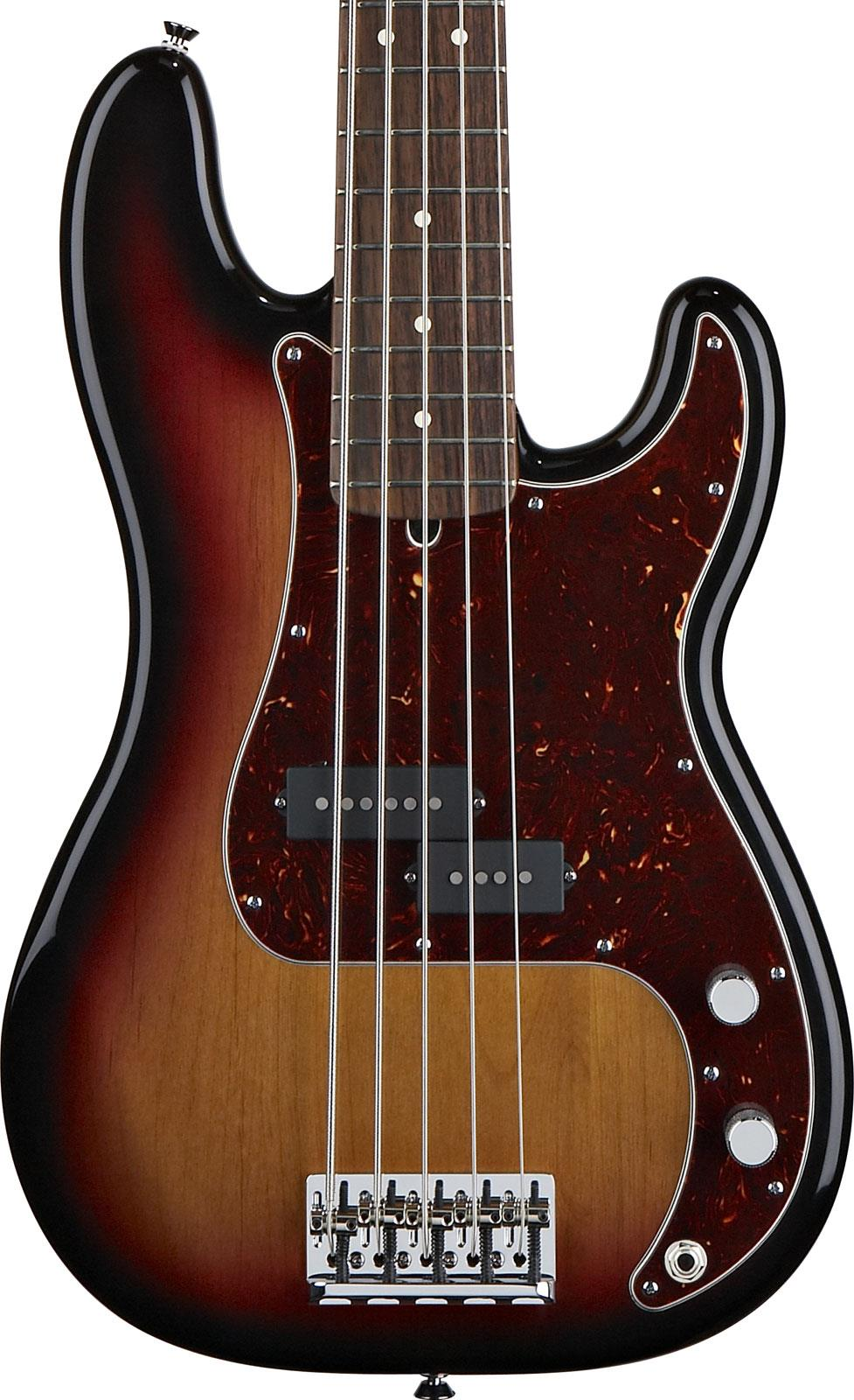 fender american standard precision bass v 3tone sunburst rw keymusic. Black Bedroom Furniture Sets. Home Design Ideas