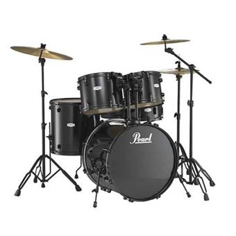 Pearl FZ725 B31 Forum Black acoustic drum kit