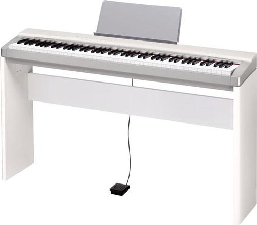 casio px130 privia white keymusic. Black Bedroom Furniture Sets. Home Design Ideas