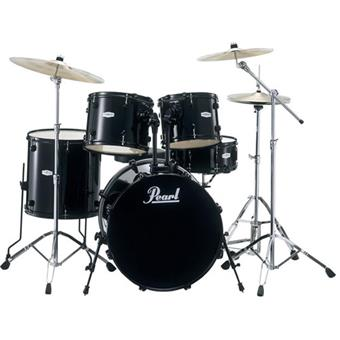 Pearl FZ725F B31 Forum Drumset Black acoustic drum kit