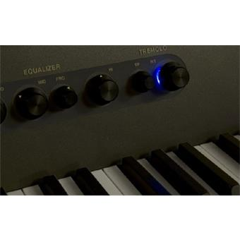 Rhodes Mark 7 A Series 73 Black Brilliant stage piano