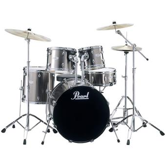 Pearl FZ725F C21 Forum Smokey Chrome acoustic drum kit