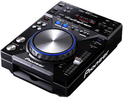 Pioneer Cdj400 Blue Pack Limited Edition Keymusic