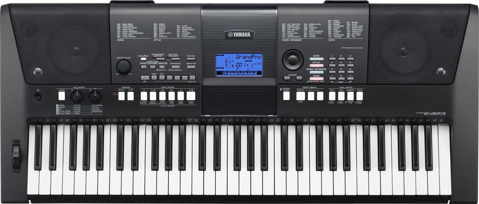 yamaha psr e423 keymusic. Black Bedroom Furniture Sets. Home Design Ideas