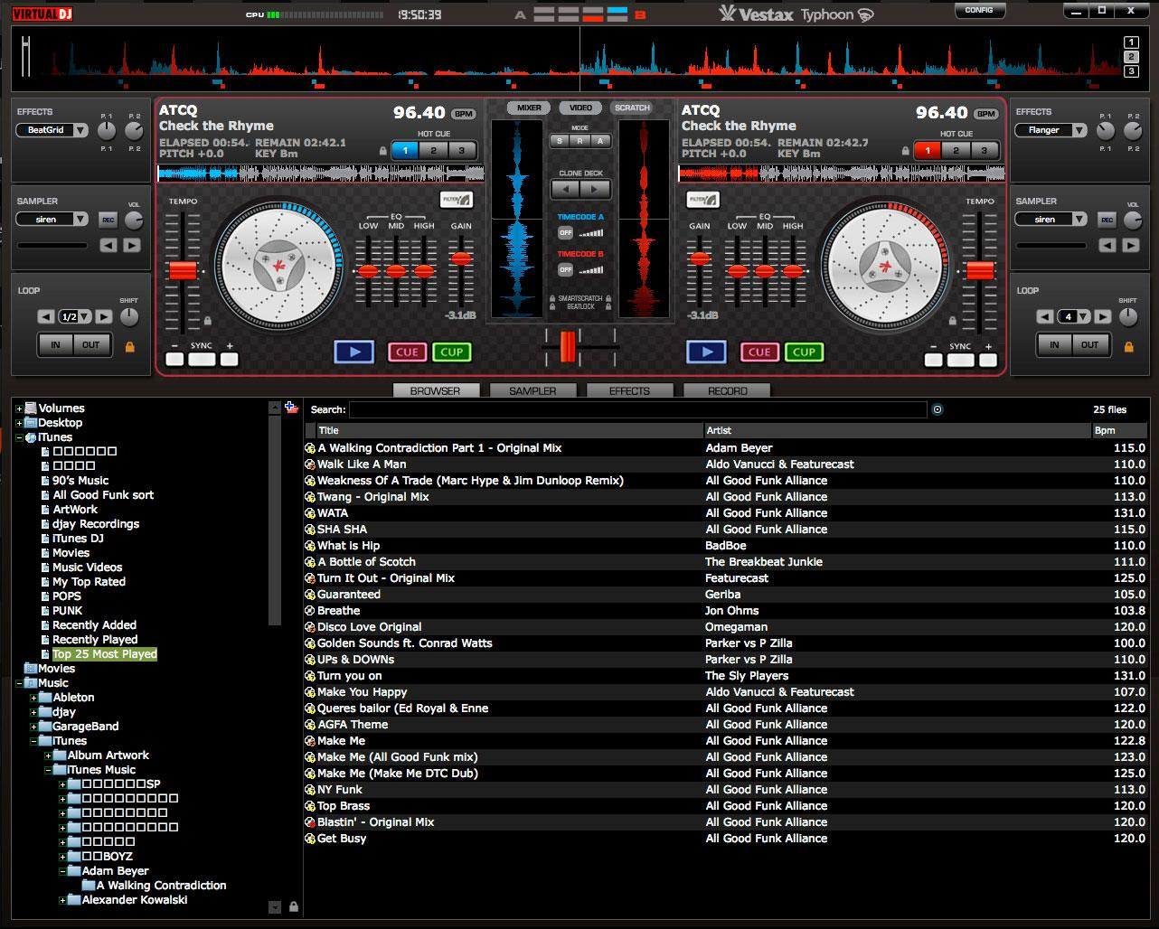 Vestax Typhoon Virtual Dj Mapping Download