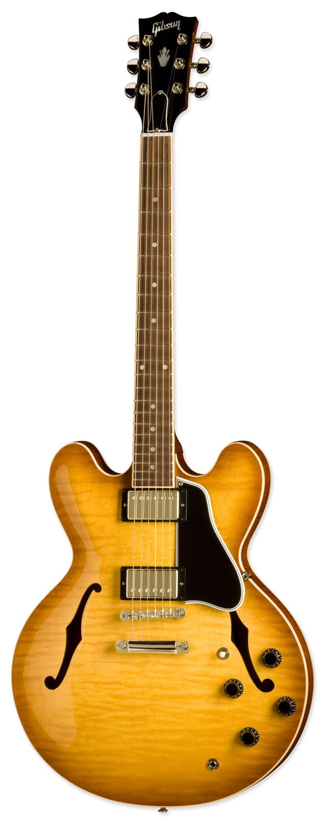 gibson es335 dot figured gloss light burst keymusic. Black Bedroom Furniture Sets. Home Design Ideas