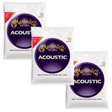 Martin Strings M140 Light 3-Pack
