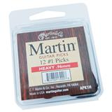 Martin APK1H Heavy Guitar Picks 12-Pack