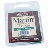 Martin APK1L Light Guitar Picks 12-Pack