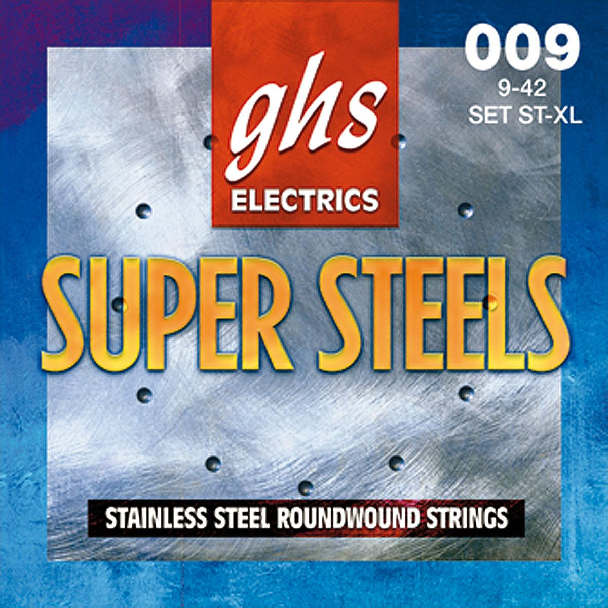 GHS GBXL Boomers Extra Light  Roundwound Electric Guitar Strings .009 .042