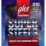 GHS STL Light Super Steels Electric Guitar Strings