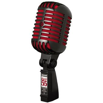 Shure Super 55SH BCR Limited Edition Black microphone