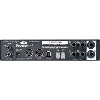Focusrite Saffire Pro 14 Firewire audio-interface