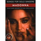 Hal Leonard Songs For Solo Singers Madonna