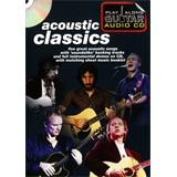 Hal Leonard Play Along Guitar Audio CD Acoustic Classics