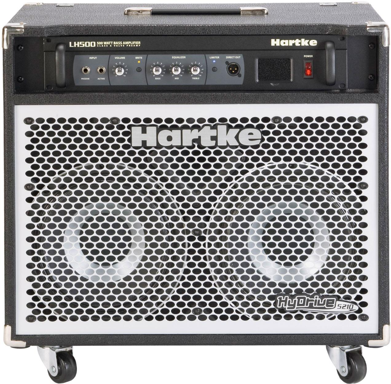 Hartke 5210c Hydrive Keymusic Voltage Limiter For Guitar Amplifiers Hybrid Bass Combo