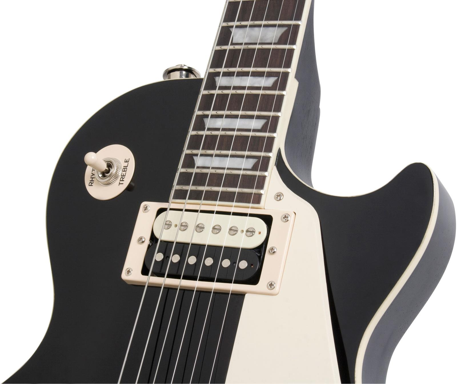 epiphone les paul traditional pro ebony keymusic. Black Bedroom Furniture Sets. Home Design Ideas