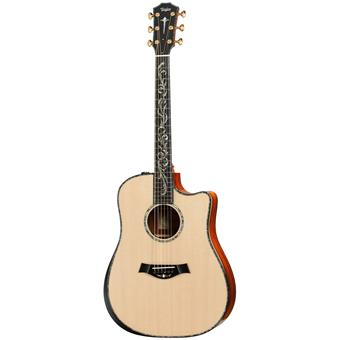 Taylor PS10ce Dreadnought Presentation Series acoustic-electric cutaway dreadnought guitar