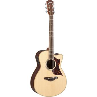 Yamaha AC1R Natural acoustic-electric cutaway orchestra guitar