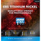 EBS TN HB4 Titanium Nickel Heavy 4 Bass Strings