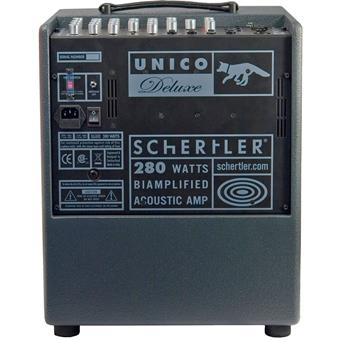 Schertler Unico Deluxe acoustic guitar combo