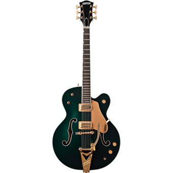 Gretsch G6196T Country Club Cadillac Green semi-acoustic guitar