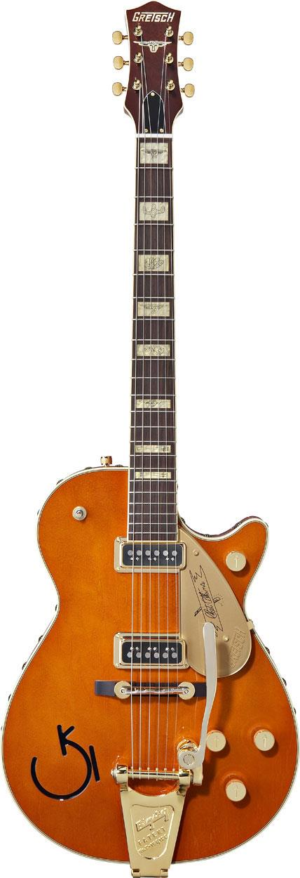 Gretsch G6121 1955 Chet Atkins Solid Body With Leather