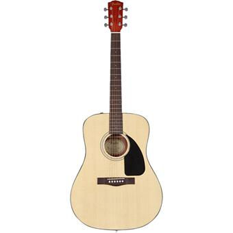 Fender CD60 Natural dreadnought guitar