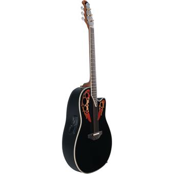 Ovation C2078AX-5 Custom Elite Black