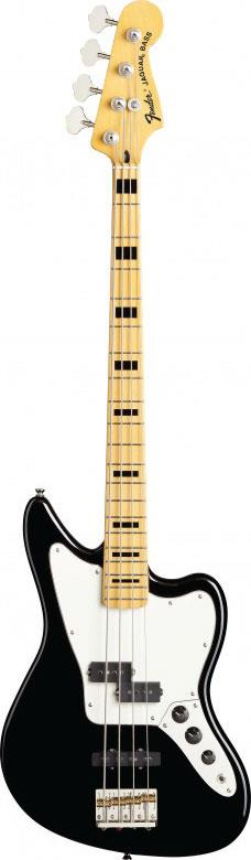 fender modern player jaguar bass black keymusic. Black Bedroom Furniture Sets. Home Design Ideas
