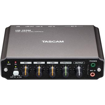 Tascam US125M audio interface