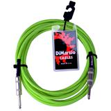 DiMarzio EP1700 Instrument Cable Neon Green 550cm