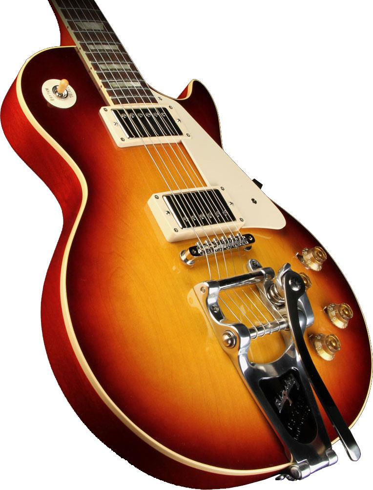 gibson les paul custom 58 reissue bigsby bourbonburst keymusic. Black Bedroom Furniture Sets. Home Design Ideas
