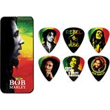 Dunlop Bob Marley Pick Tin Rasta Medium
