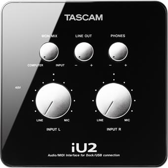 Tascam IU2 USB audio-interface