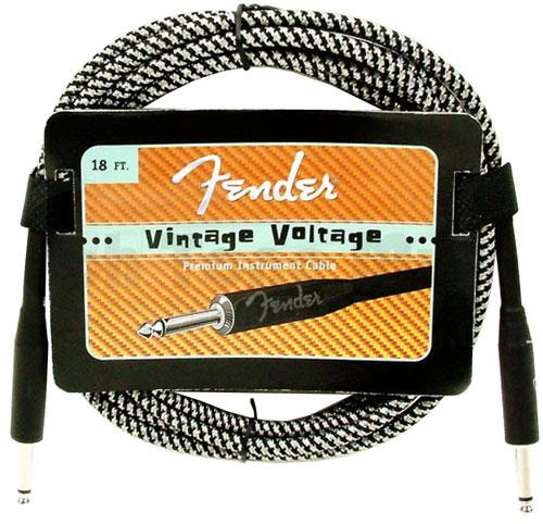 Fender Vintage Volt Black Silver 18ft | Keymusic