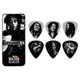 Dunlop Bob Marley Pick Tin Silver Medium