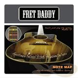 Fret Daddy Note Map Acoustic Electric