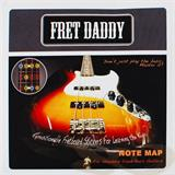 Fret Daddy Note Map Bass