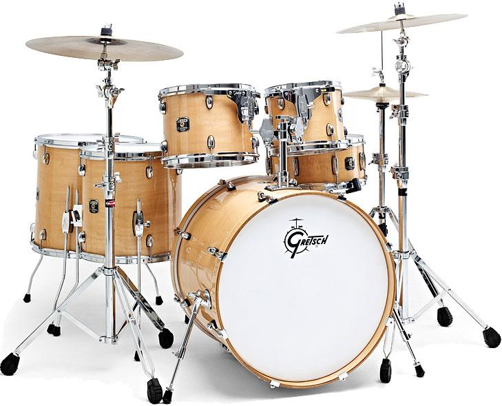 gretsch drums cme826 catalina maple gloss natural keymusic. Black Bedroom Furniture Sets. Home Design Ideas