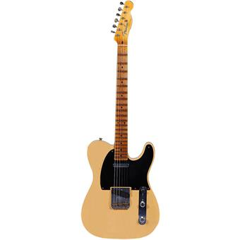 Fender Custom Shop 52 Telecaster Heavy Relic Nocaster Blonde electric guitar