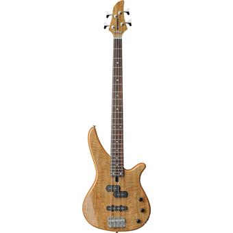 Yamaha RBX170EW Exotic Wood Natural 4 string bass guitar