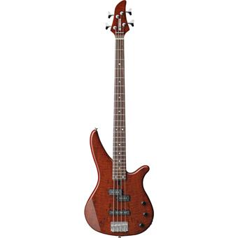 Yamaha RBX170EW Exotic Wood Root Beer 4 string bass guitar