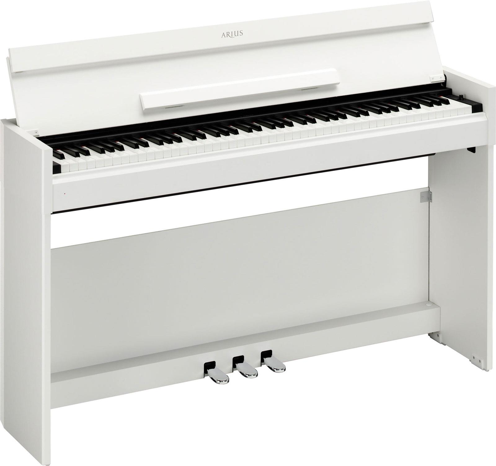 Yamaha ydp s51 white keymusic for White yamaha piano