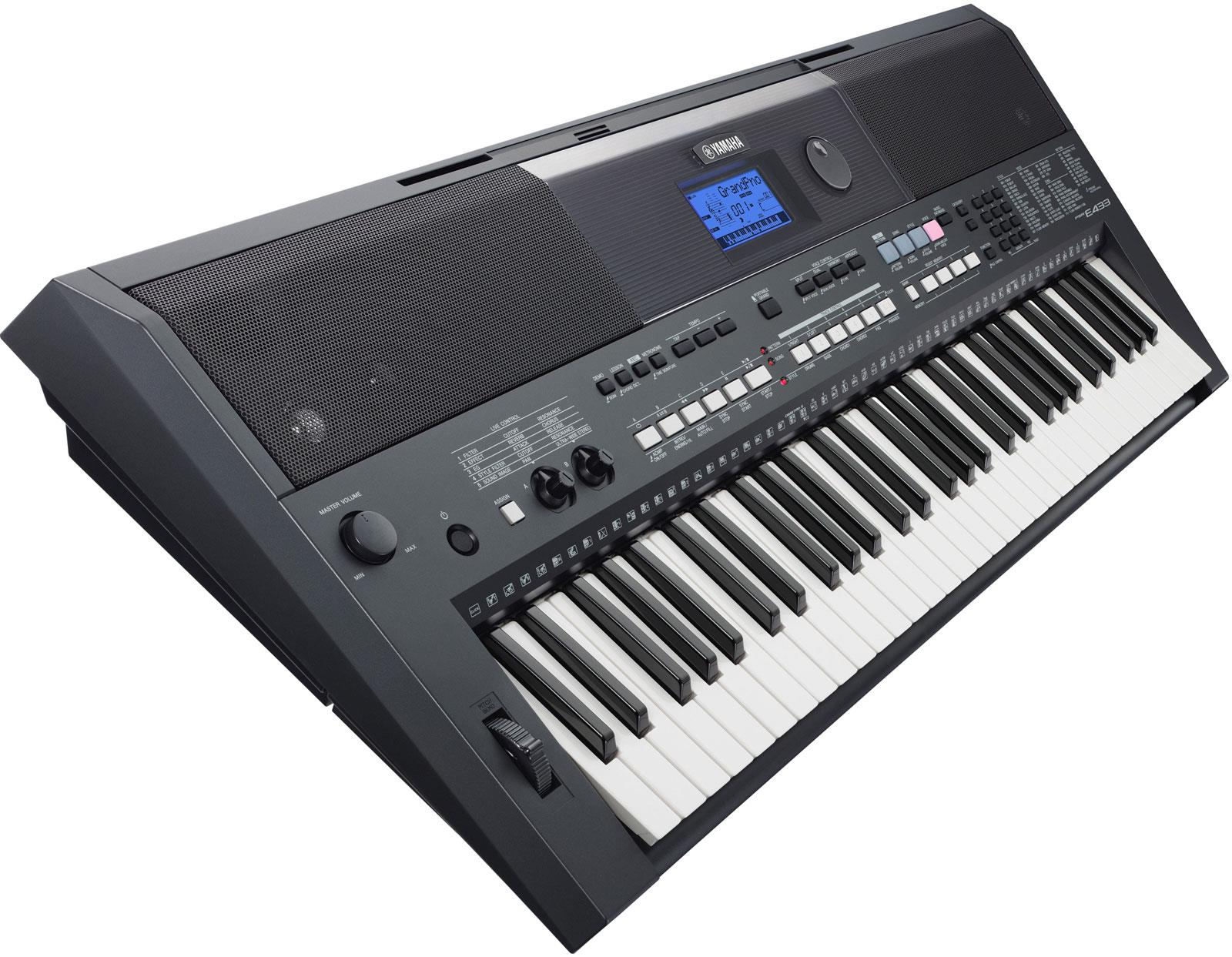 yamaha psr e433 keymusic. Black Bedroom Furniture Sets. Home Design Ideas